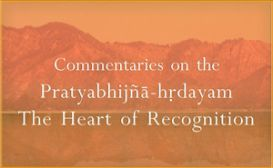 Commentaries on the Pratyabhijna-hrdayam
